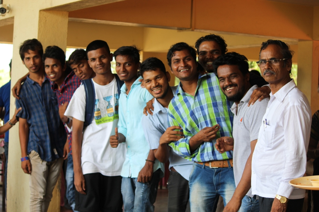 CTS Annual Day Boys with Suptd