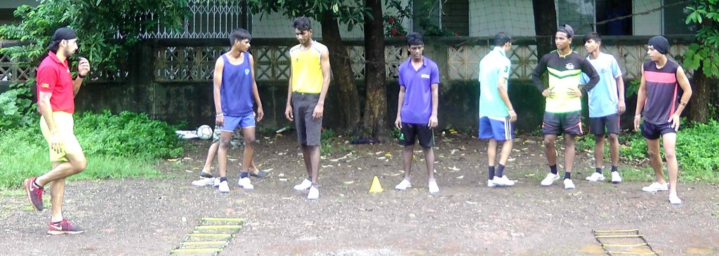 Tarun Sadan Boys Practicing to Run Marathon