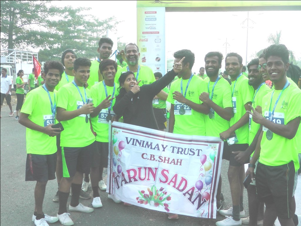 Tarun Sadan Boys after Run4Diversity 5 km Marathon, Kharghar 2